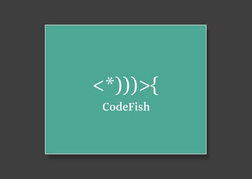 Logomarca de peixe muito bonita